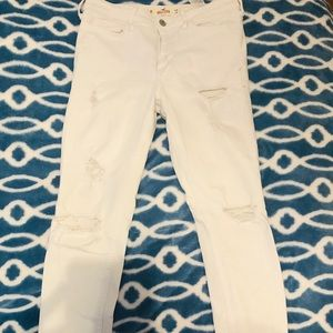 Hollister- high rise super skinny pants